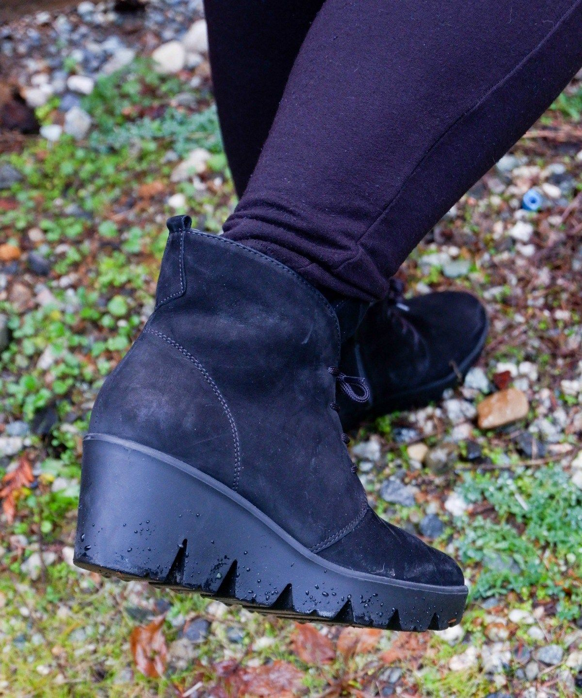 Effie Wedge Ankle Boot. #review