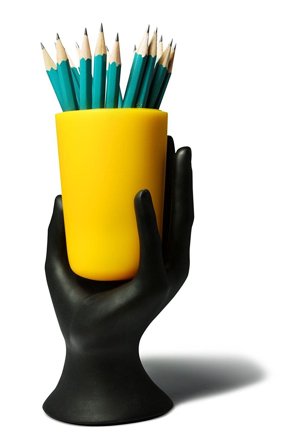 Hand That Person A Cup Of Pencils Hand Cup Pen Pencil Holder By Lilgift Pencil Cup Holder Pencil Holders For Desk Pencil Holder