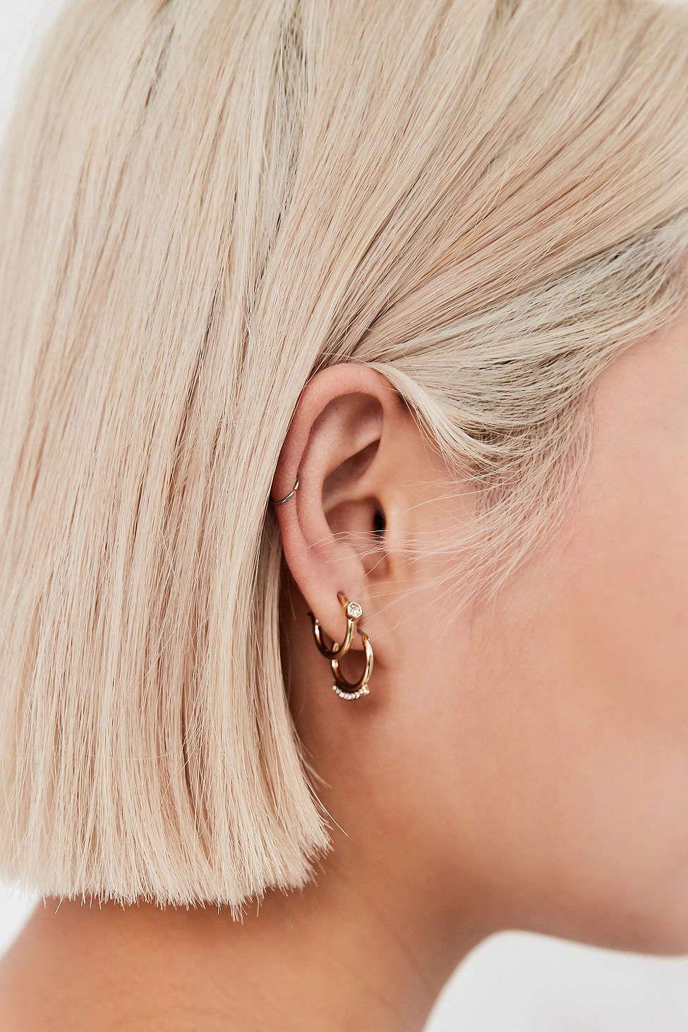Luv Aj Full Bloom Hoop Earring Set  Urban Outfitters