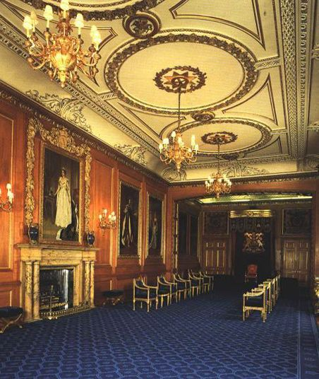 Garter Throne Room, Windsor Castle (photo) | Castles ...