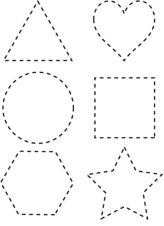 Printable activities for kids. Geometric Shapes 83
