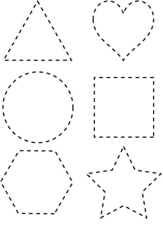 Atividades Para Crianças Para Imprimir Formas Geométricas
