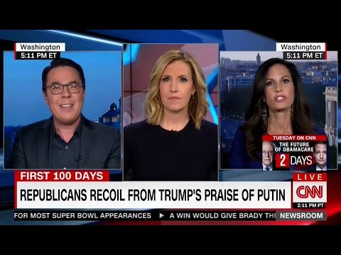 'You Don't Know Me': CNN Panel on Trump, 'Moral Relativism' Goes Off the Rails - YouTube