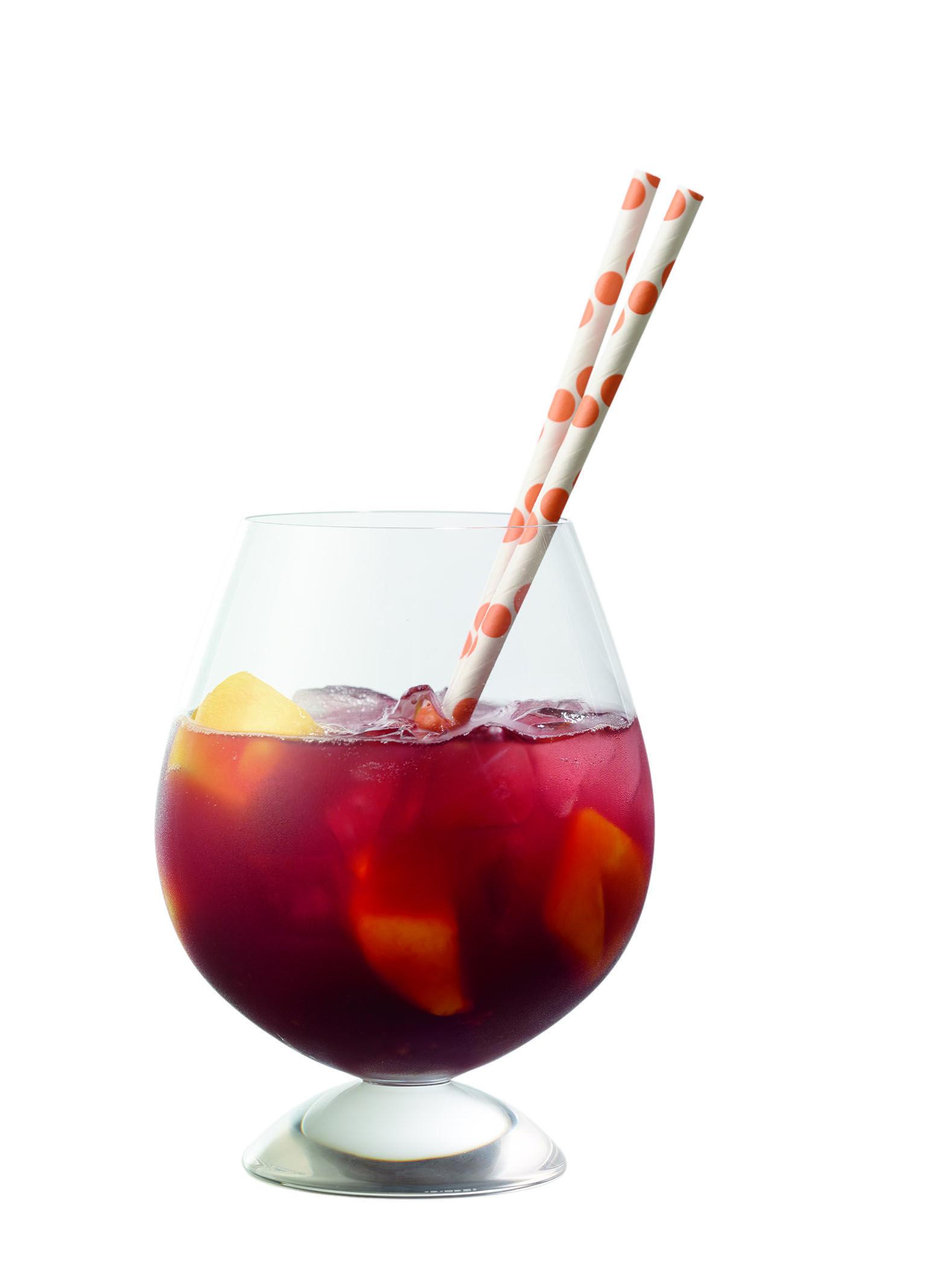 Malbec Mango Sangria Barefoot Wine Bubbly Borracho Tomando Vino