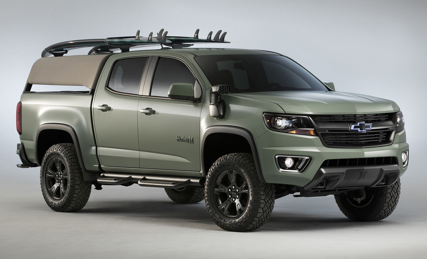 Chevrolet Colorado Hurley U0026 Trax Active Concepts Debut At
