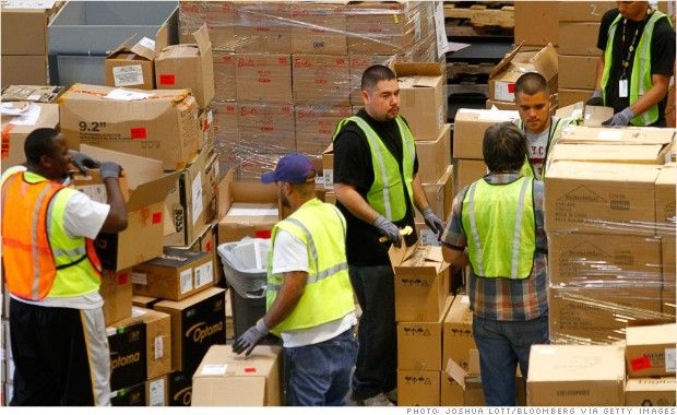 Why Is Obama Giving His Economy Speech At An Amazon Warehouse