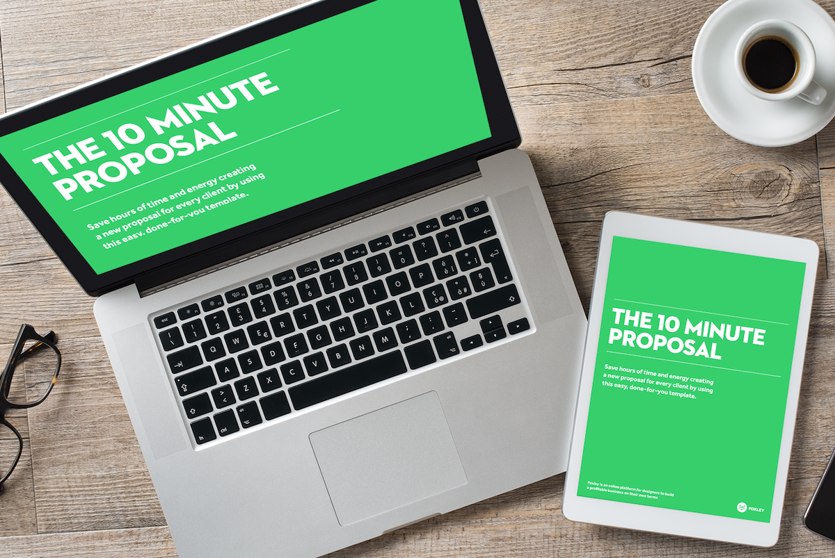 free proposal template%0A Save     hours per week with this killer   page Proposal Template that u    s  sold