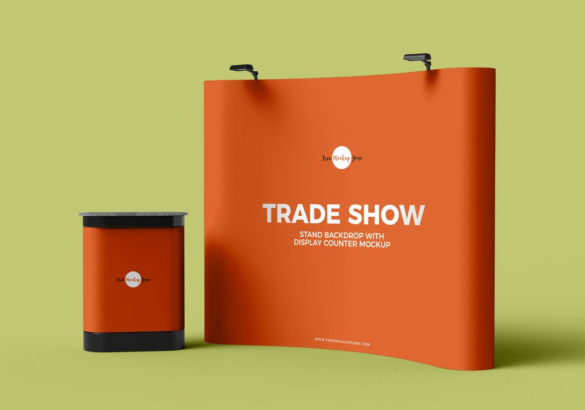 free trade show banner