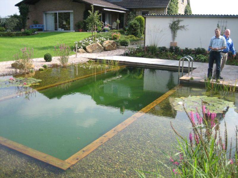 Swimpond swimpond 20 ba tenski set za jezero for Zwemvijver zelf bouwen