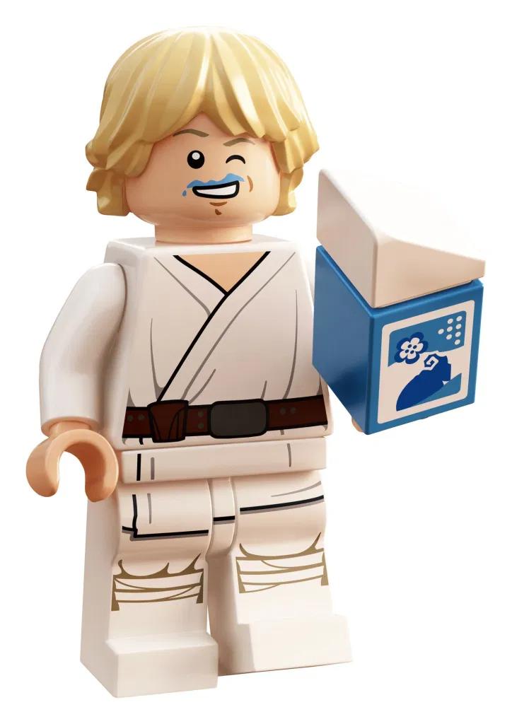 Lego Star Wars Luke Skywalker With Blue Milk 30625 Polybag Revealed Lego Star Wars Lego Star Wars Games Star Wars Luke