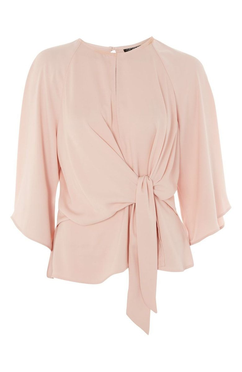 f2a40feaef Slouchy Knot Front Blouse, Alternate, color, Blush | what i have in ...