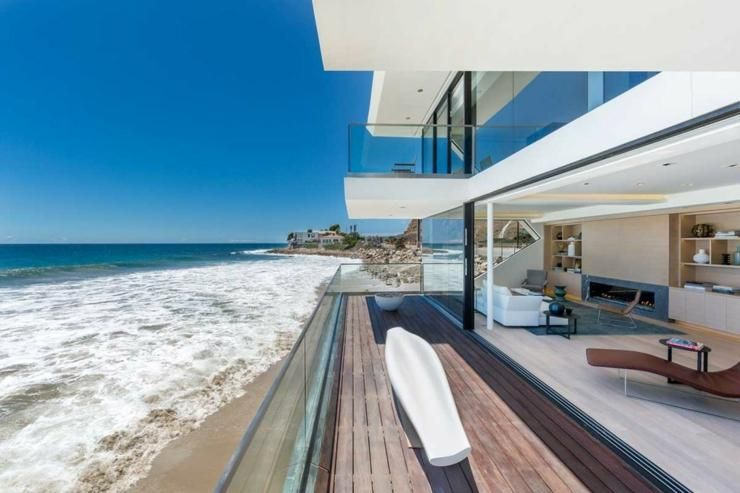 maison d architecte de prestige malibu californie architecture pinterest. Black Bedroom Furniture Sets. Home Design Ideas
