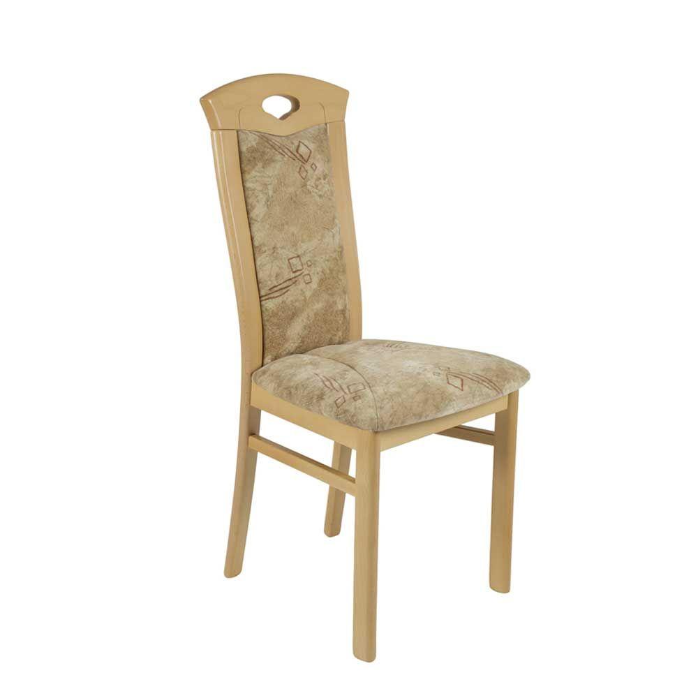 Fesselnde Esstisch Stühle Beige Sammlung Von Esszimmerstuhl Aus Buche Massivholz Tert (2er Set)