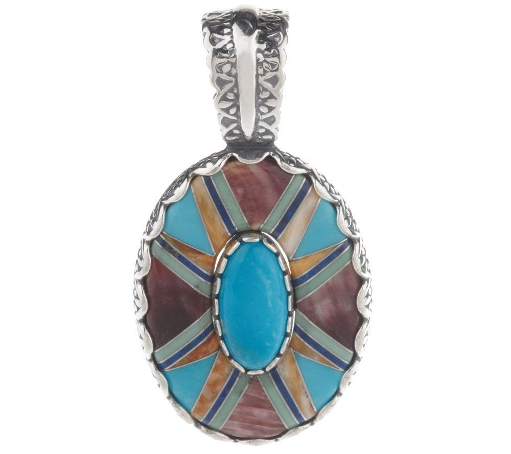 Carolyn Pollack Sterling Serenity Enhancer   $75.00 #Jewelry #Shine #Sparkle #Bling   Visit WISHCLOUDS.COM for more…
