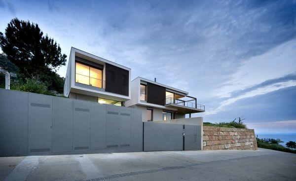V HOUSE. Girona. Spain by MSAAGROUP , via Behance