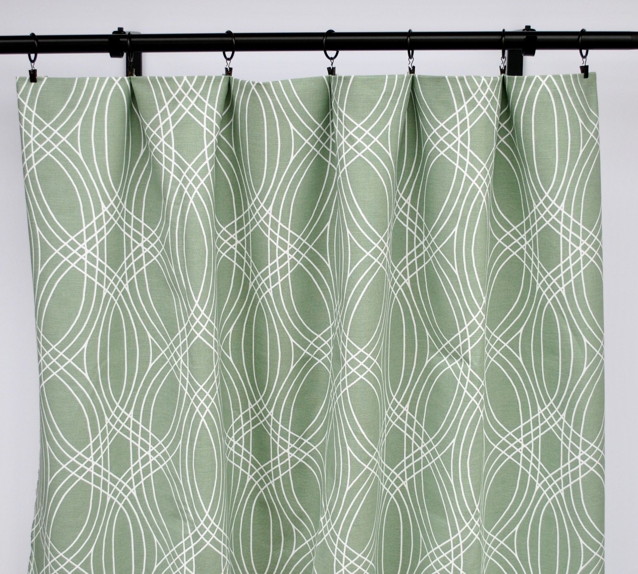 Scott Living Curtain Panels Sage Green Curtain Panels Green Etsy