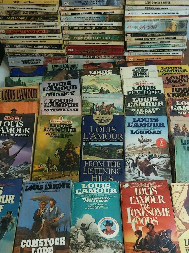 Lot 49 louis lamour lamour paperback books western