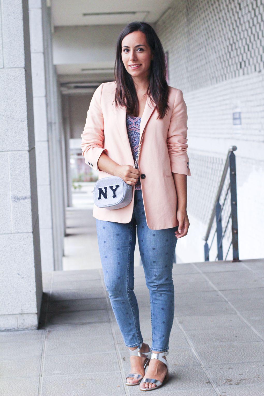 Look blazer coral zara look pantal n lunares moda vigo nice - Material de oficina vigo ...