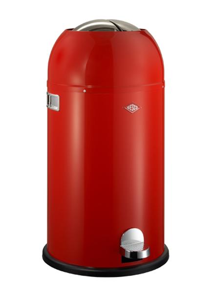 Wesco Kickmaster 33 Liter Zilver.Mal 69x37 5cm Inderspand 49x30cm Volume 33 Liter Design