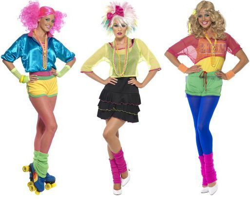 80 S Fancy Dress Costumes With A Difference 80s Fancy Dress