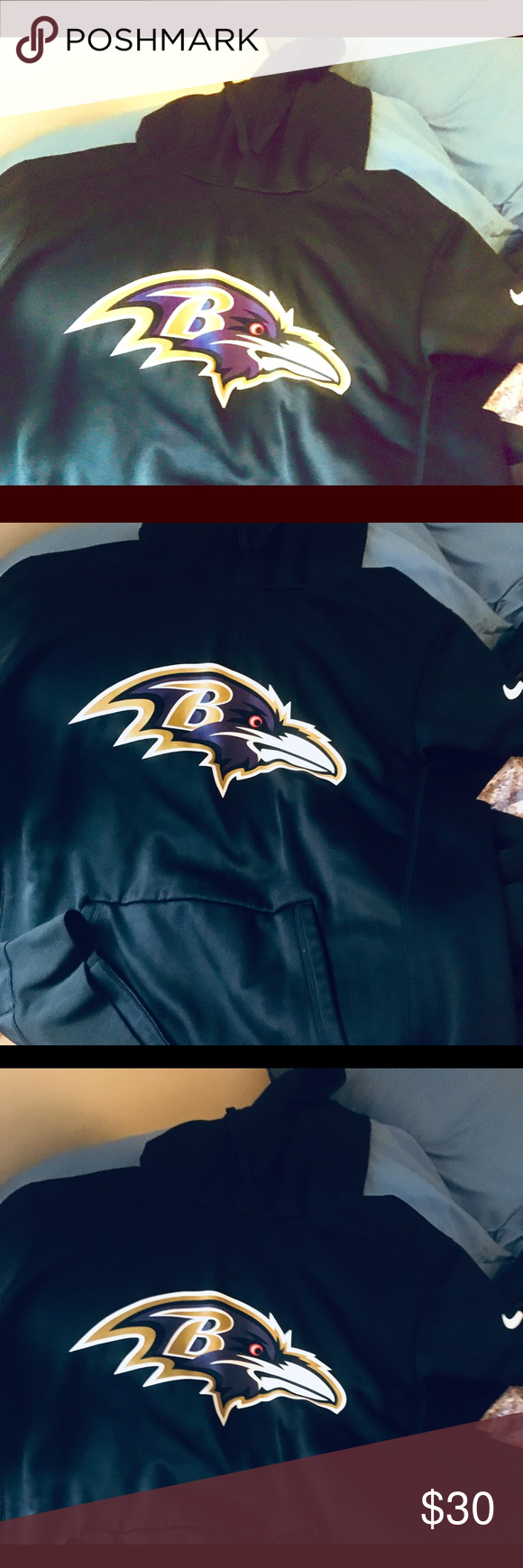Predownload: Baltimore Ravens Sweatshirt Practically New Warm Sweatshirts Sweatshirts Sweatshirt Shirt [ 1740 x 580 Pixel ]
