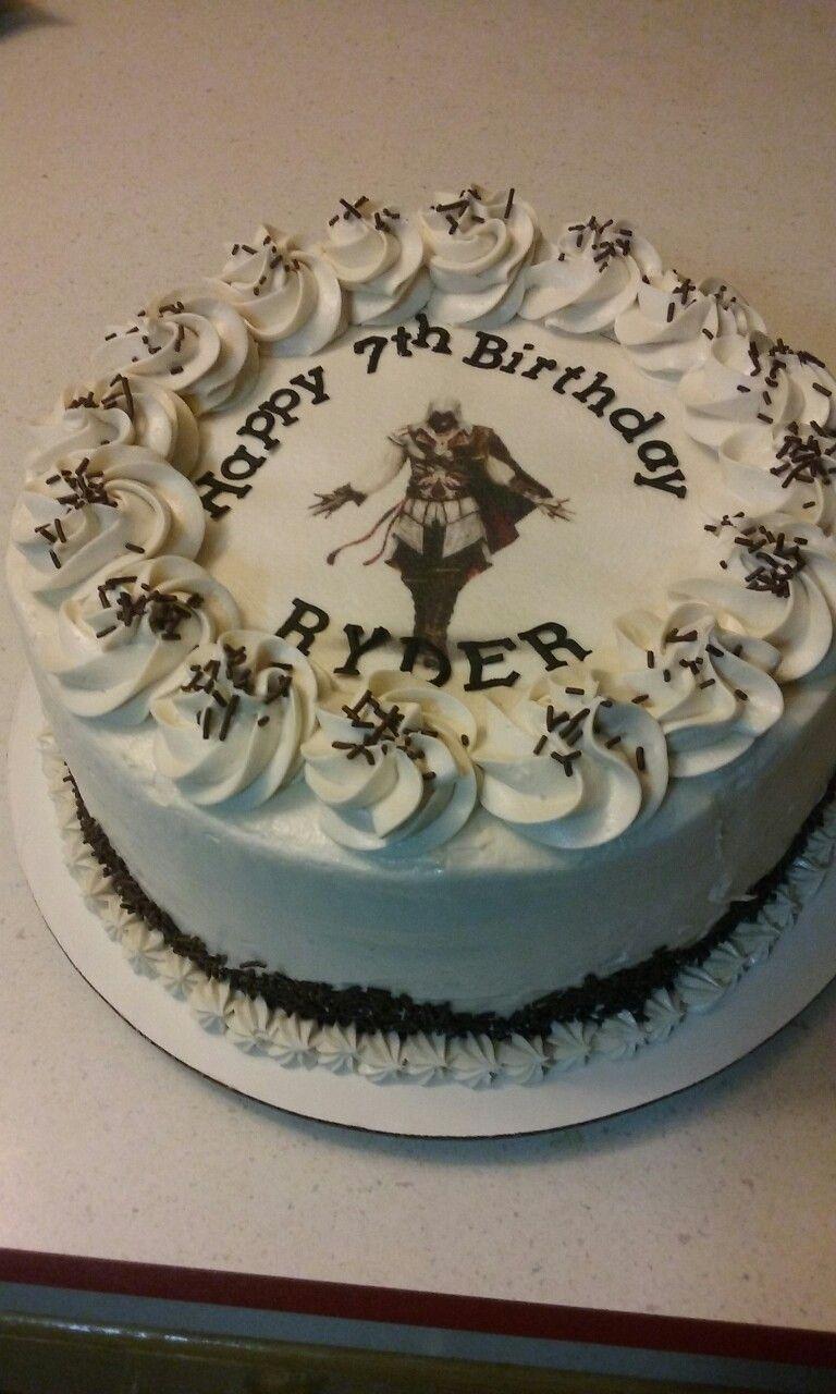 Assasin S Creed Cake