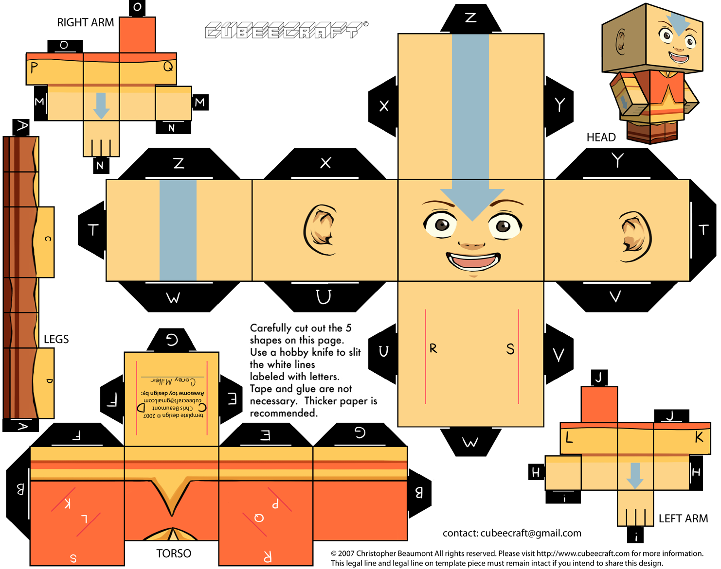 craft e family aang cubecraft by battousai777 png 1482 215 1171 craft 1482