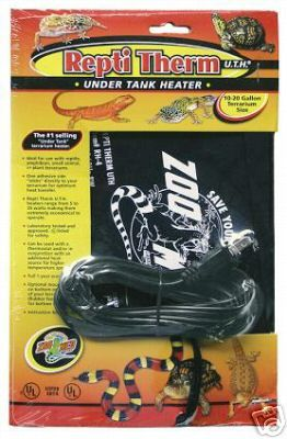Repti Therm Under Tank Heater 16watt Leopard Gecko Care