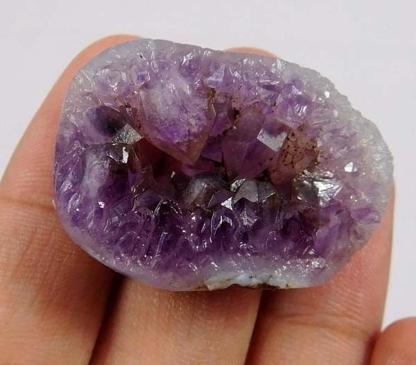 Details about 80 Cts.100% NATURAL FREE FORM AMETHYST LACE DRUZY ...
