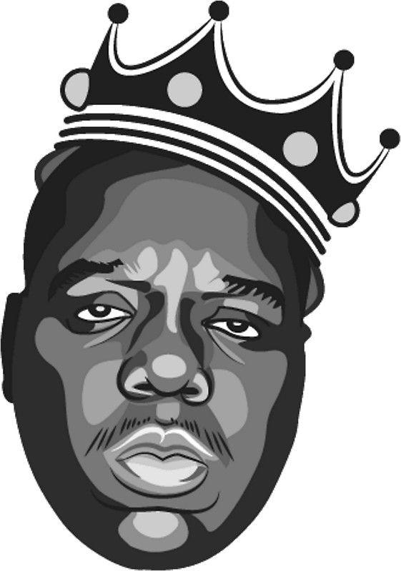Notorious B I G Dibujos De Raperos Barba Dibujo Imagenes De Hip Hop