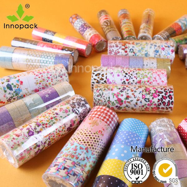Custom printed washi tapeInnopack SuZhou Co., Ltd_One-stop packaging material supplier