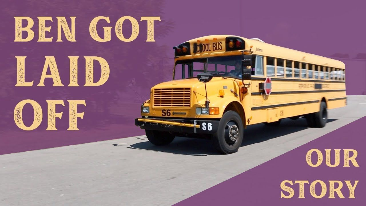 This school bus conversion video is about the process of