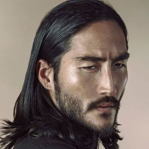 34 Best Asians With Beards Images On Pinterest: Full Asian Beard And Mustache With Long Hair