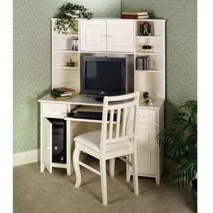 corner office desk hutch. Amelia Corner Desk With Hutch - Home Office Furniture Touch Of Class L