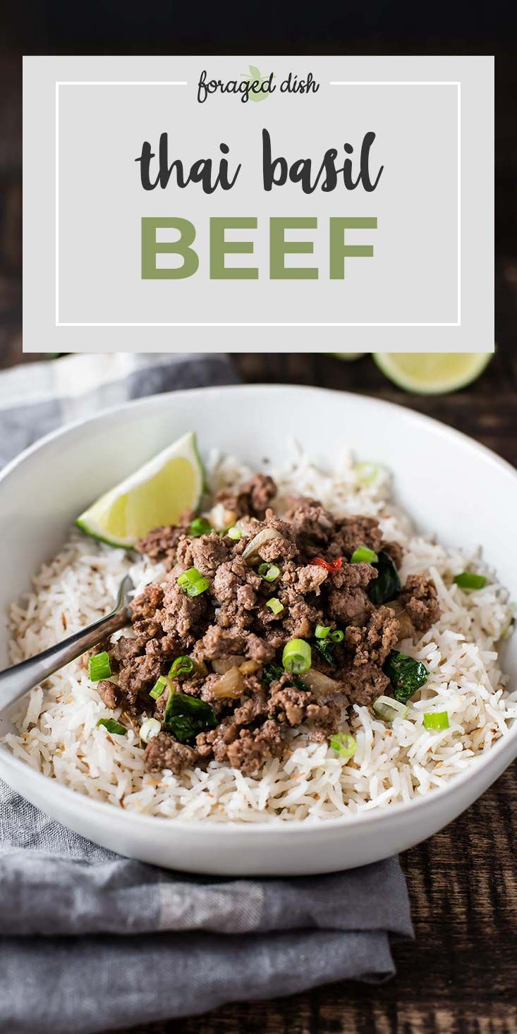 Asian Ground Beef Recipes Thai Basil