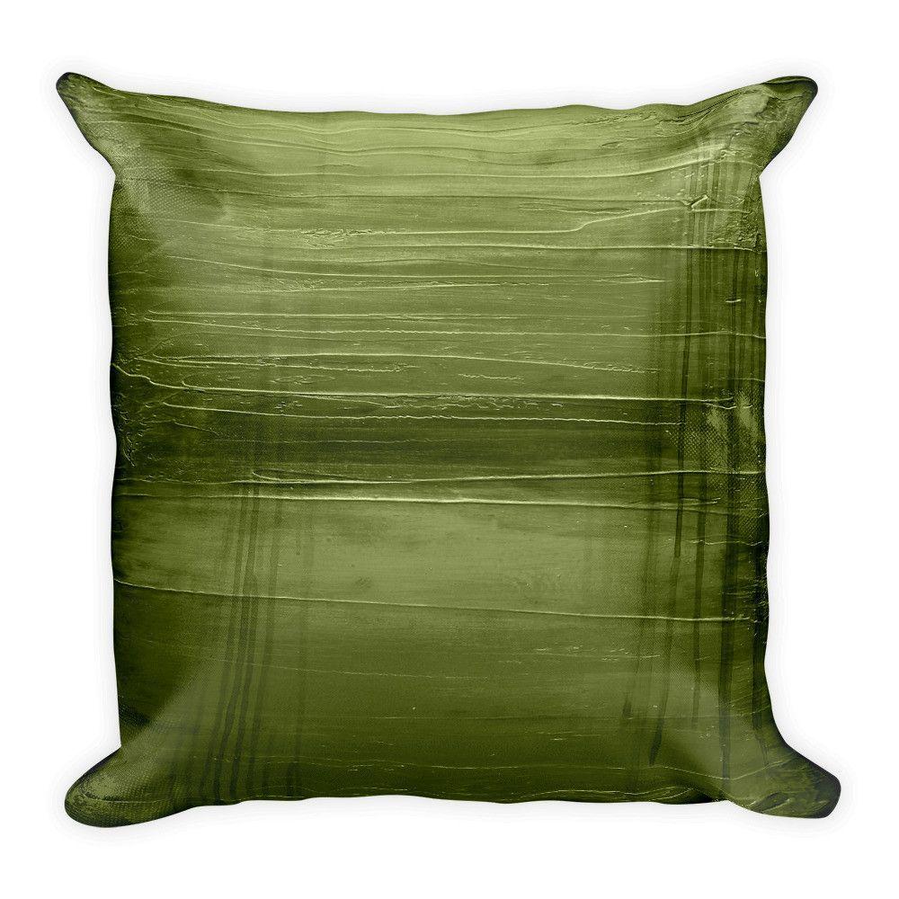 Hunter Green Throw Pillow