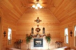 Little Valley Mountain Resort In Pigeon Forge Tennessee Has A Log Wedding Chapel Where Black Bear Cabins And Weddings Performs Ceremonies Offers