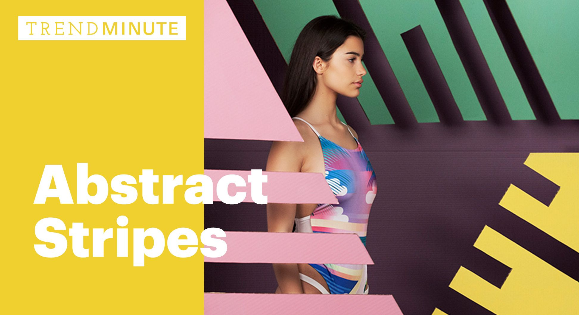 Trend Minute: Abstract Stripes via @wgsn_official