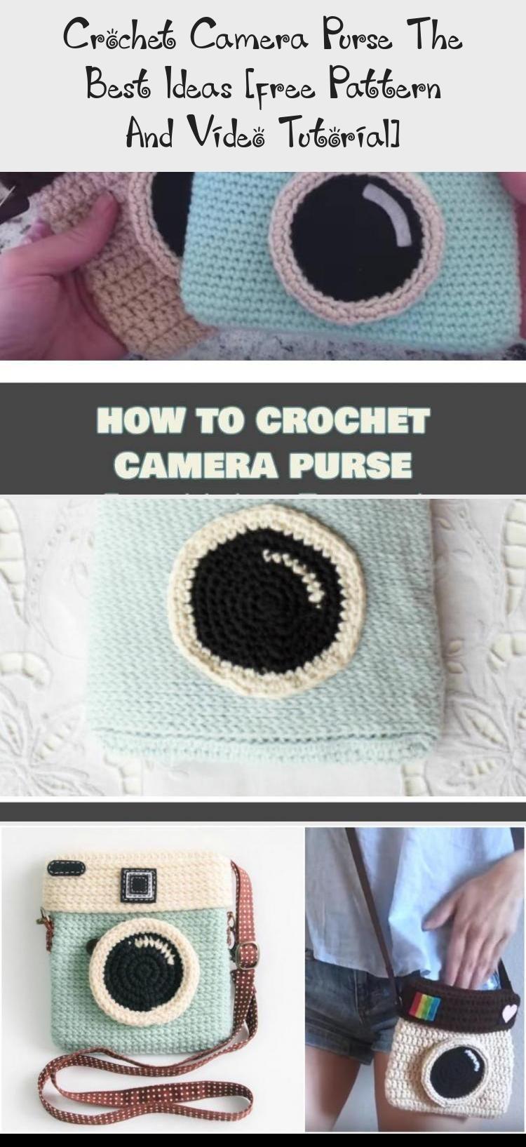 Crochet Camera Purse The Best Ideas [free Pattern And Video Tutorial] - crochetthat #camerapurse Crochet Camera Purse The Best Ideas, Free Crochet Pattern and Video Tutorial #crochetToys #crochetForBeginners #crochetHeart #crochetAfghan #crochetIdeas #crochetcamera