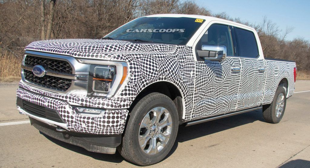 2021 Ford F 150 Shows Off New Front And Rear End Design Ford