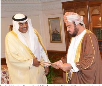 أمير الكويت يرسل رسالة خطية إلى السلطان قابوس Academic Dress