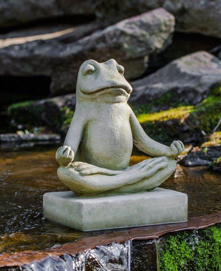 Statue de jardin zen- le Bouddha éternel et l\'art de décorer | Frogs