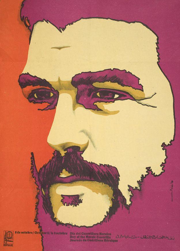 OSPAAAL Poster Che Guevara MULTI COLOR 12X17 CUBAN HERO REVOLUTION MINT