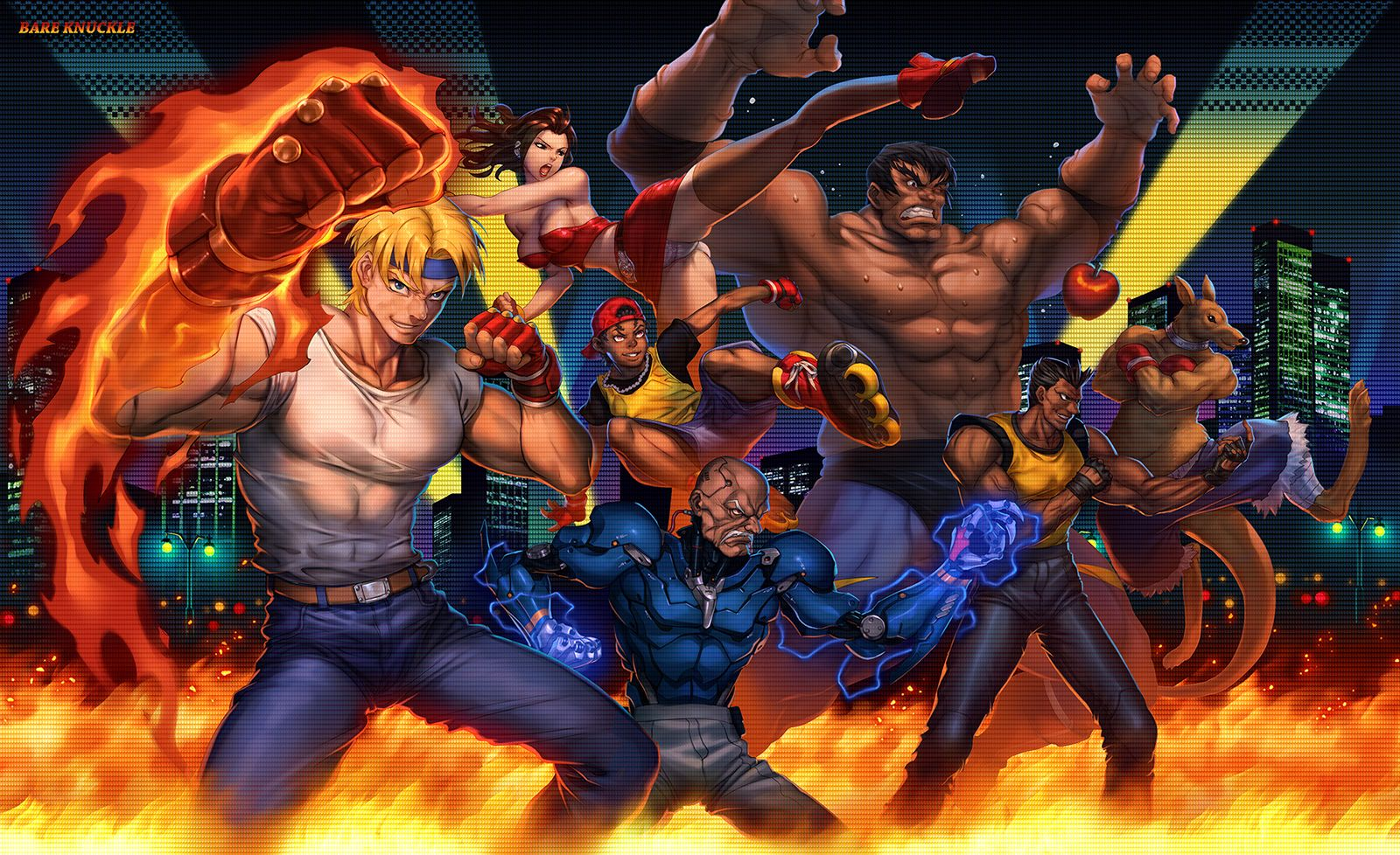 Streets Of Rage By Mosthika Rage Art Beast Games Rage