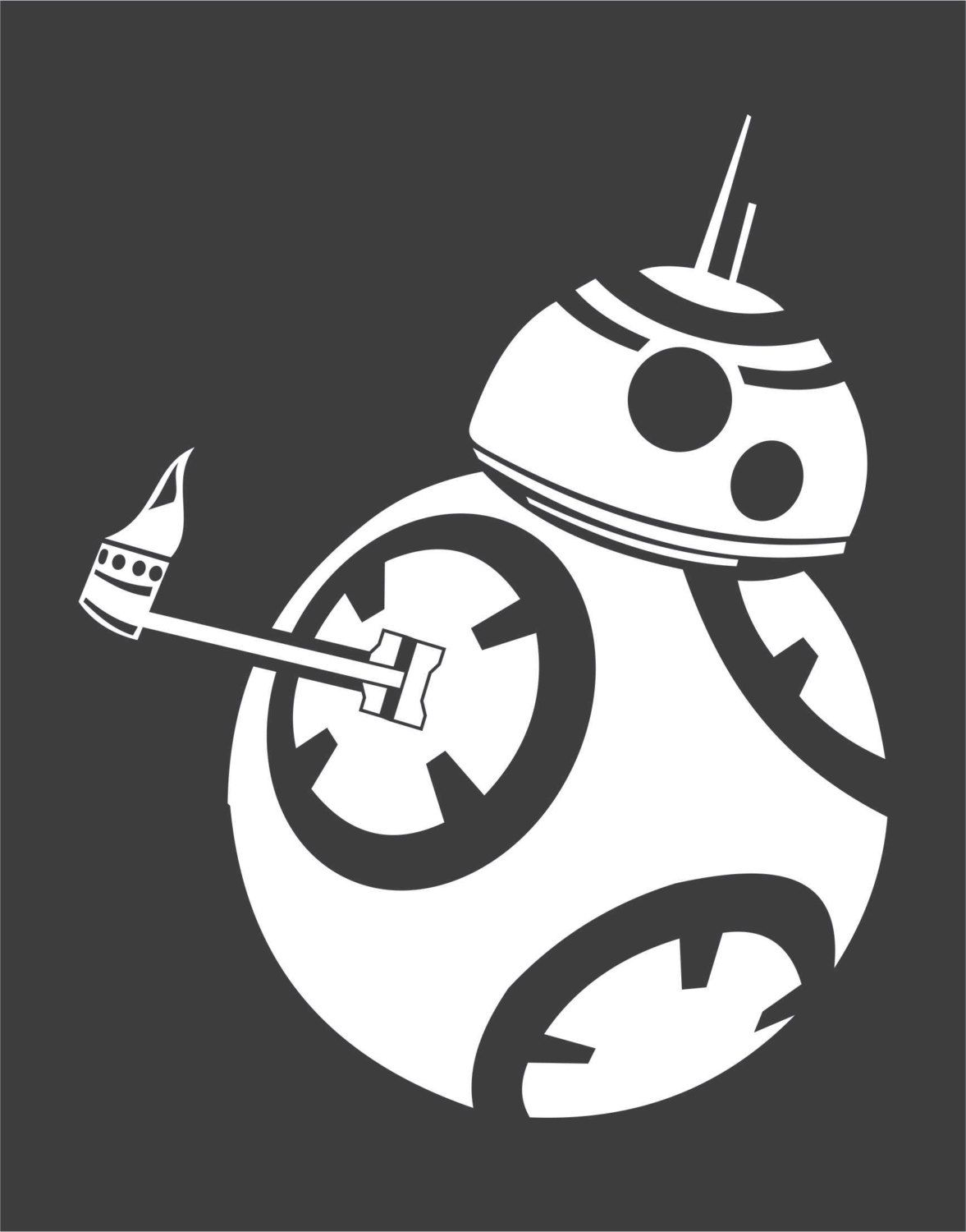 Thumbs up bb 8 by postimpactdecals on etsy