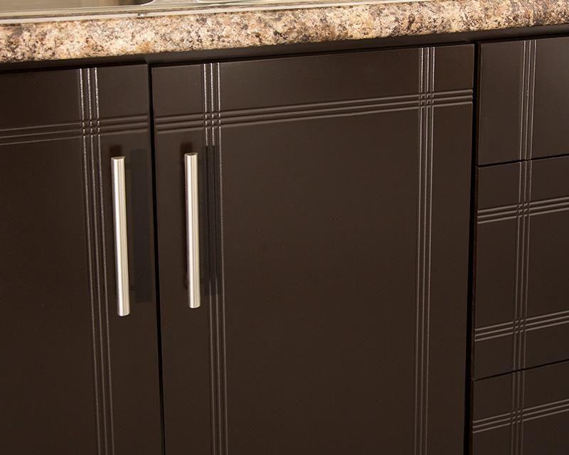 Cocina ebano 240 cm con 9 puertas cocina pinterest for Puertas cocina integral
