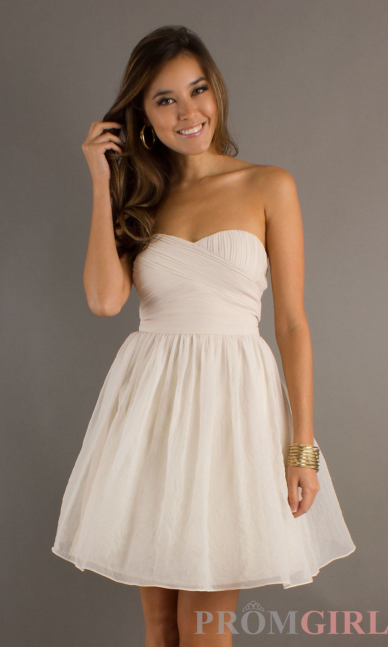 Frontview kate and mikes wedding pinterest strapless black