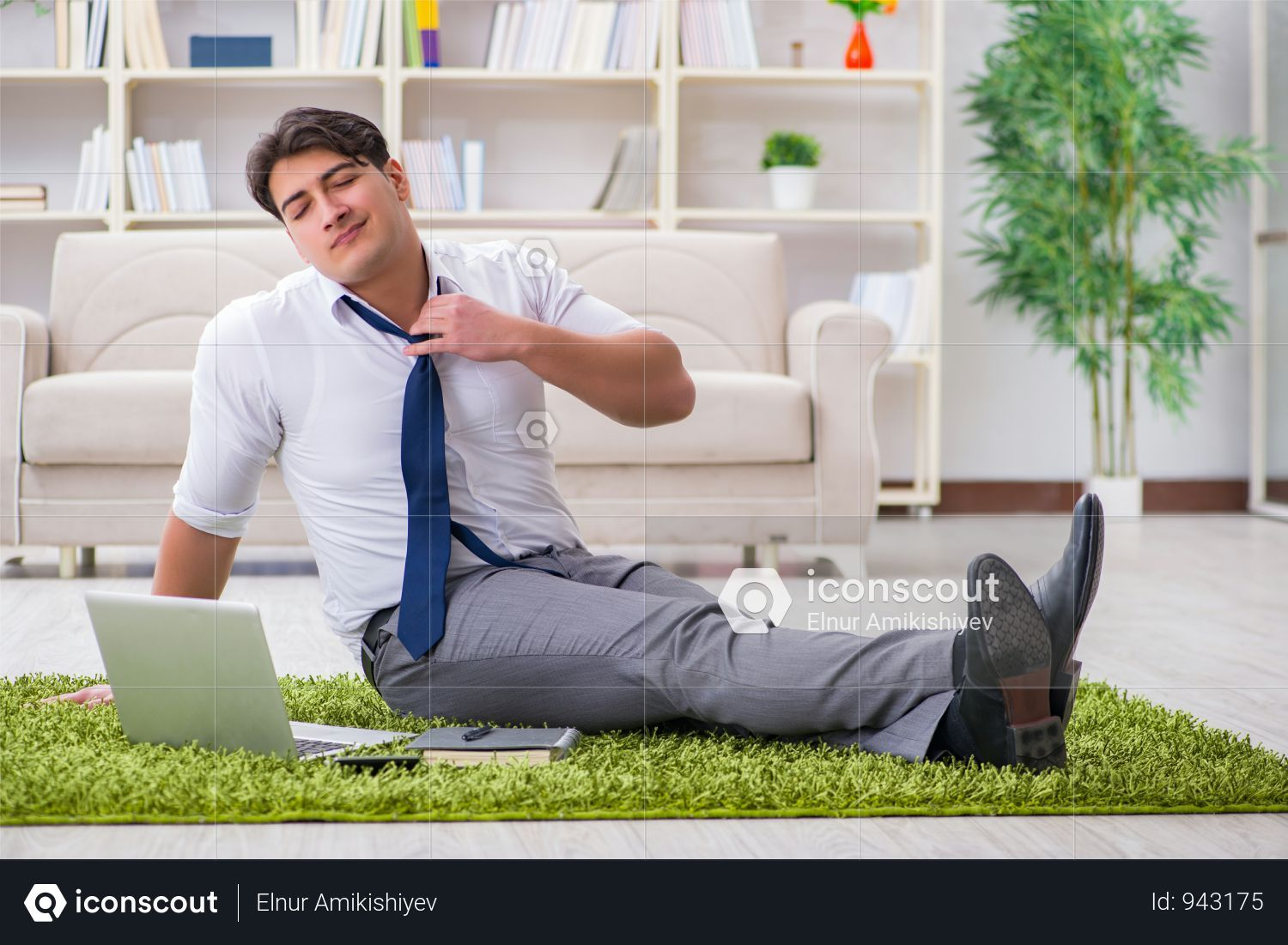 Premium Businessman Sitting On The Floor In Office Photo Download In Png Jpg Format Business Man Photo Professional Photo