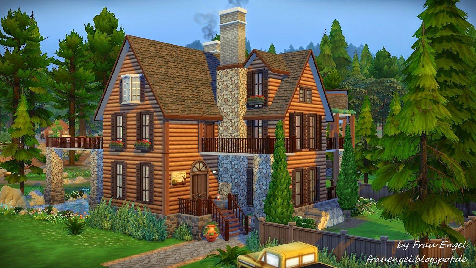 Frau Engel: Lakeside Cabin. | <3 Sims 4 Haus Ideen | Pinterest ...