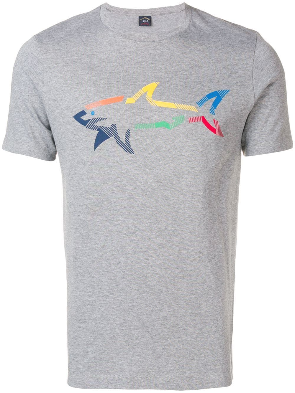 776481fcf Paul & Shark printed T-shirt - Grey in 2019 | Products | Paul shark ...